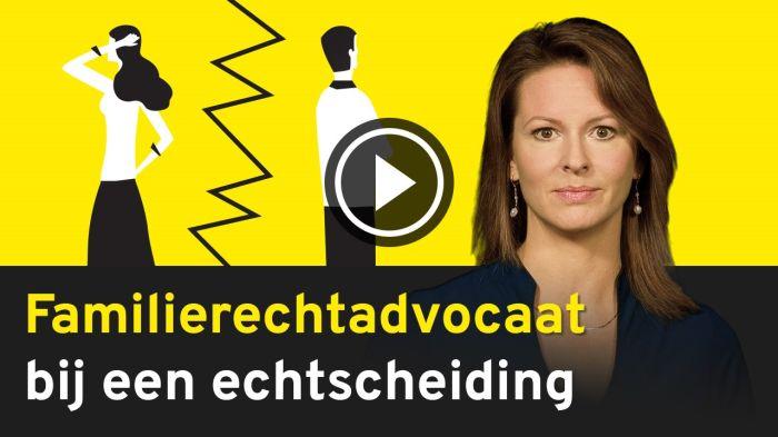 Vlog 'De rol van een familierechtadvocaat bij echtscheiding'